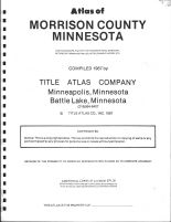 Title Page, Morrison County 1987